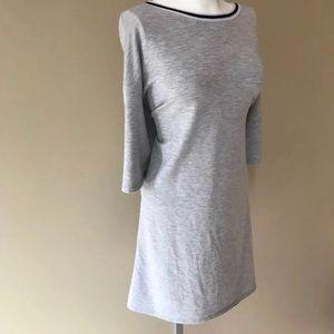 Calvin Klein Gray Athletic Shirt Dress Large L